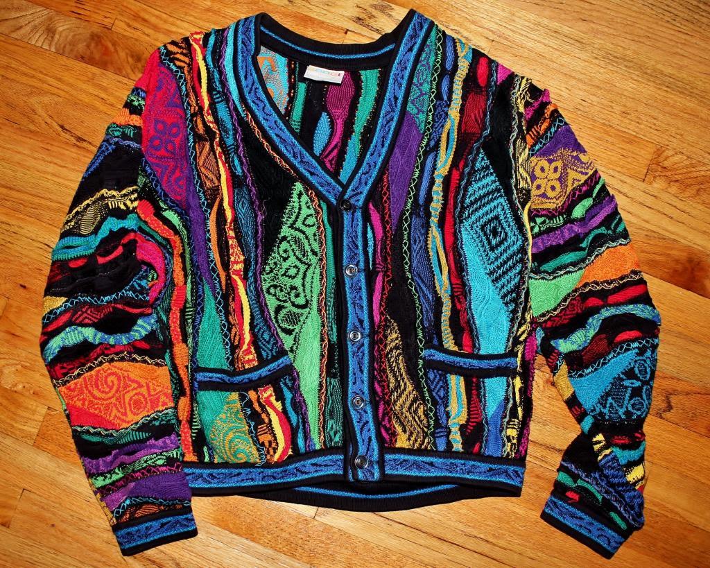 Pixels Vintage Coogi Sweaters Nyc